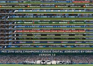 UCL 2014 Digital Adboards by db89